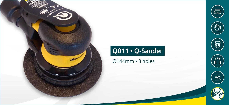 Q-Sander ROS Incl. Q-Backing pad